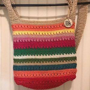 The Sak  Cross Body Crochet Bag